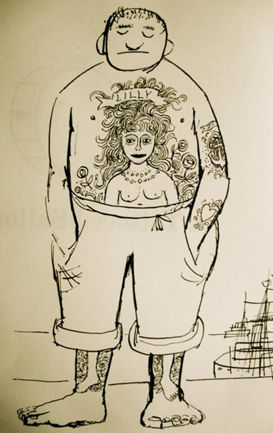 Tat sailor