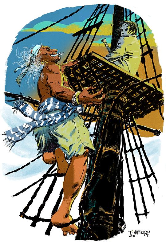 Pirate climb2