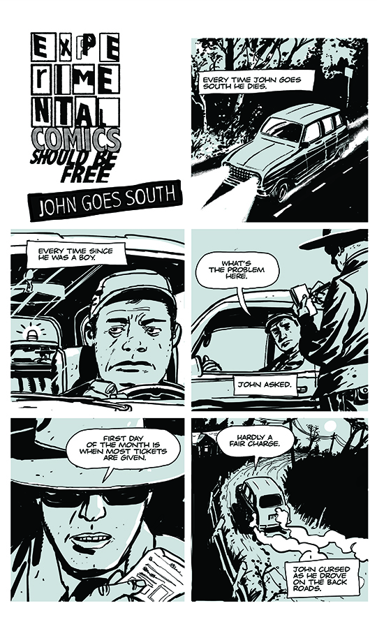 John goes south 1