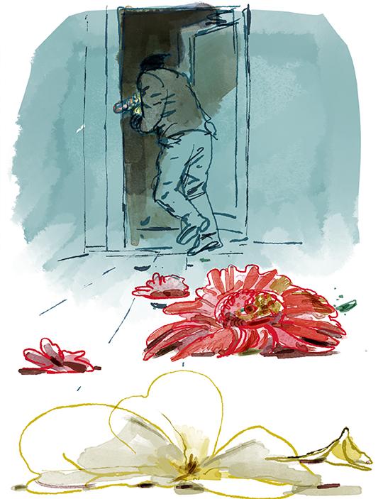 crime flowers